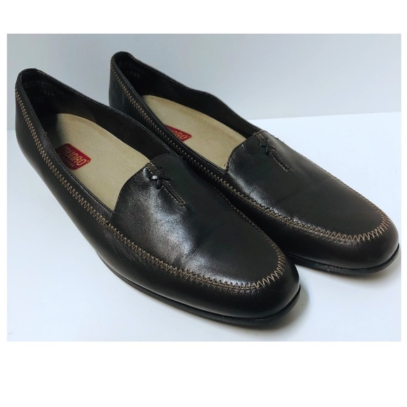 Munro Shoes - Munro Women's Brown Leather Loafers